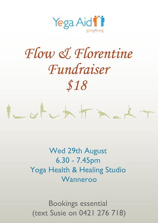 flow and florentine fundraiser
